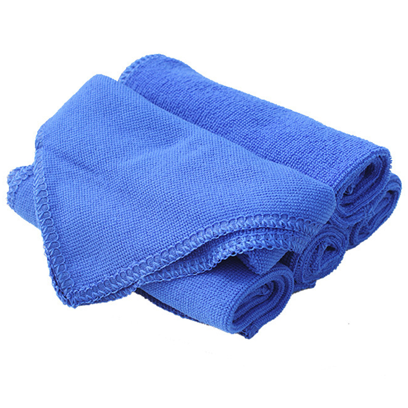 Outgeek 10Pcs Kitchen Towels Cleaning Cloth Multifunctional Drying Microfiber Dish Towel Hand Towel Dishcloths for Home Hotel