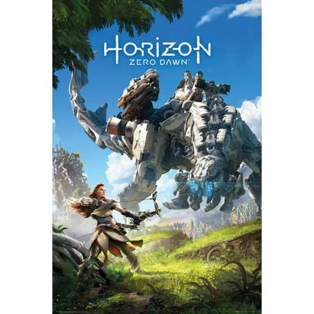 Horizon  Zero Dawn   Gaming Poster   Print  Game Cover   Key Art   Size  24   X 36