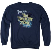 Twilight Zone I'M In The Twilight Zone Mens Crewneck Sweatshirt