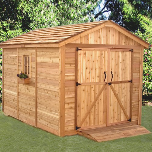 Outdoor Living Today SM812 SpaceMaker 8 x 12 ft. Storage Shed by Outdoor Living Today