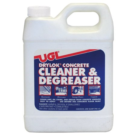 Ugl 22312 1 quart drylok concrete cleaner degreaser for Concrete cleaner degreaser