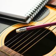 SANWOOD Guitar Strings+Picks 3 Set Guitar Replacement Metal Strings with 8 Picks Music Instrument Accessories