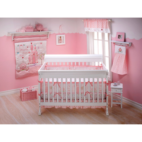 Disney Princess Happily Ever After 3-Piece Crib Bedding Set