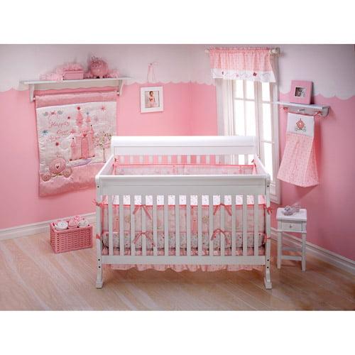 Disney Princess Happily Ever After 3 Piece Crib Bedding