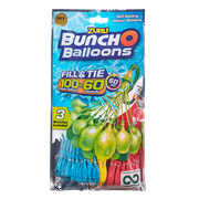 Bunch O Balloons 100 Rapid-Filling Self-Sealing Water Balloons (3 Pack) by ZURU