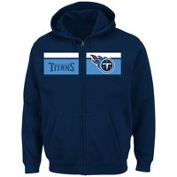 Tennessee Titans Majestic Touchback Full-Zip Hoodie - Navy