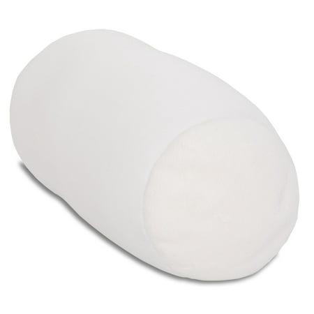 Deluxe Comfort Mini Squishy Mooshi Microbead Pillow Neck Roll Bolster Pillow - Mini Pillow