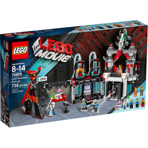 LEGO Movie Lord Business' Evil Lair Play Set