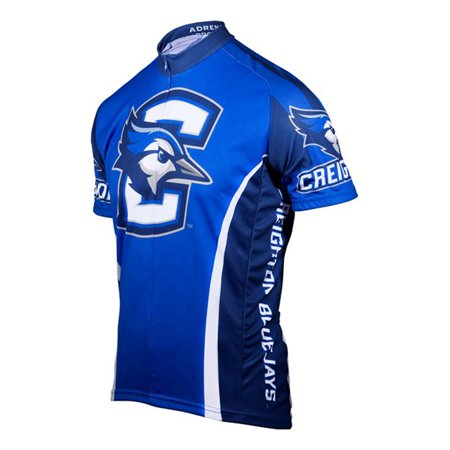 Illinois Cycling Jersey - Adrenaline Promotions Men's Creighton Cycling Jersey (Blue - XL)