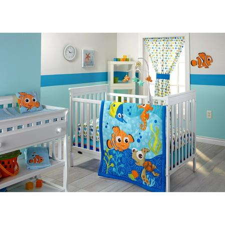 Disney Finding Nemo 3 Piece Infant Bedding Set