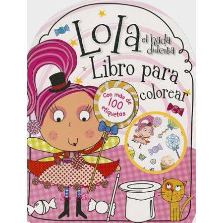 Lola El Hada Dulcita- Libro Para Colorear](Fantasmas Halloween Para Colorear)