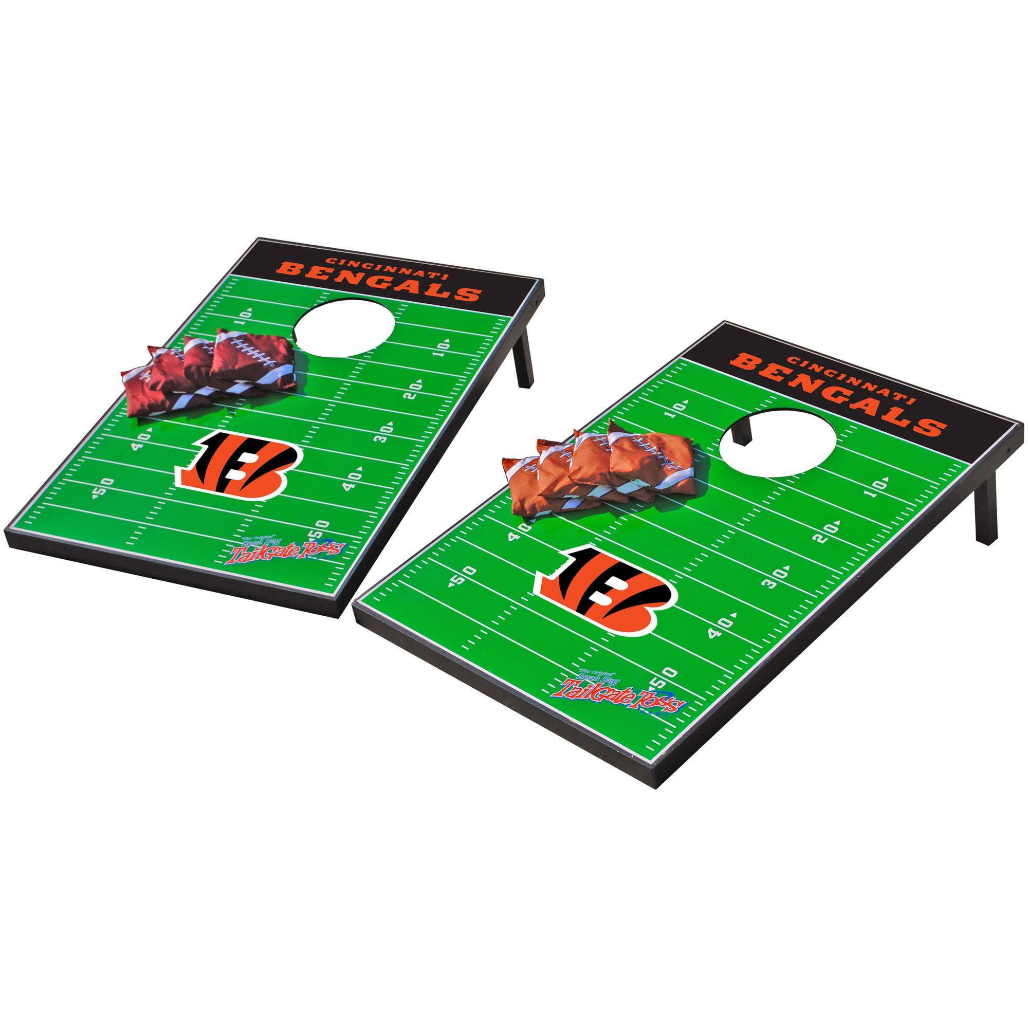 Wild Sports NFL Cincinnati Bengals 2x3 Field Tailgate Toss