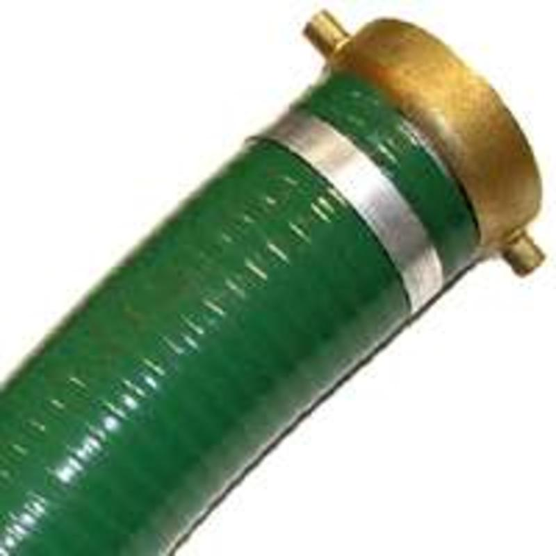 Capital Rubber Corporation 7901-3X20MF 3-In. x 20-Ft. Standard PVC Suction Hose