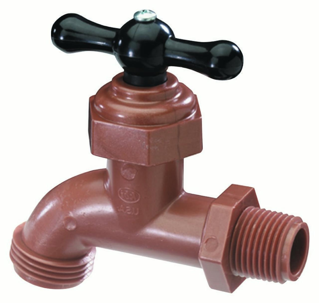 Celcon SFT-0500-T Hose Bibb 1/2 in MIPT Inlet 1/2 in Male Hose Thread Outlet 150 psi Bronze