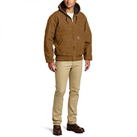 b9ffb8189accb Carhartt - Carhartt Men s Big   Tall Quilted Flannel Lined Sandstone Active  Jacket J130