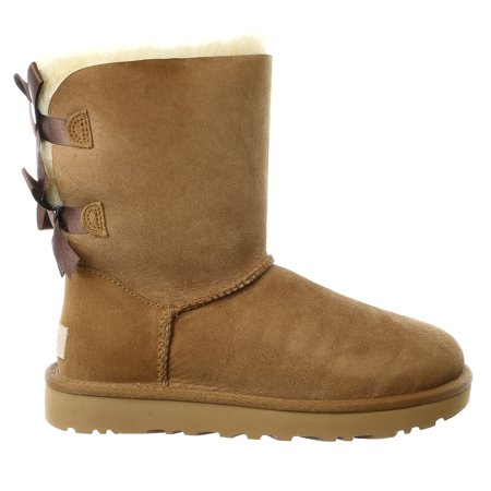 7a7a6c8d53 UGG - Ugg Women s Bailey Bow II Chestnut Ankle-High Suede Boot - 7M -  Walmart.com
