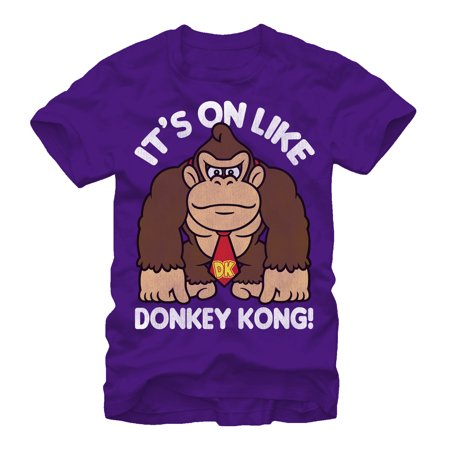 Nintendo Men's Donkey Kong Fist Pump (T-shirt Pumps)