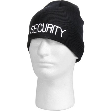 BlackBeltShop - Rothco Embroidered Security Acrylic Skull Cap - Walmart.com c26812bc099