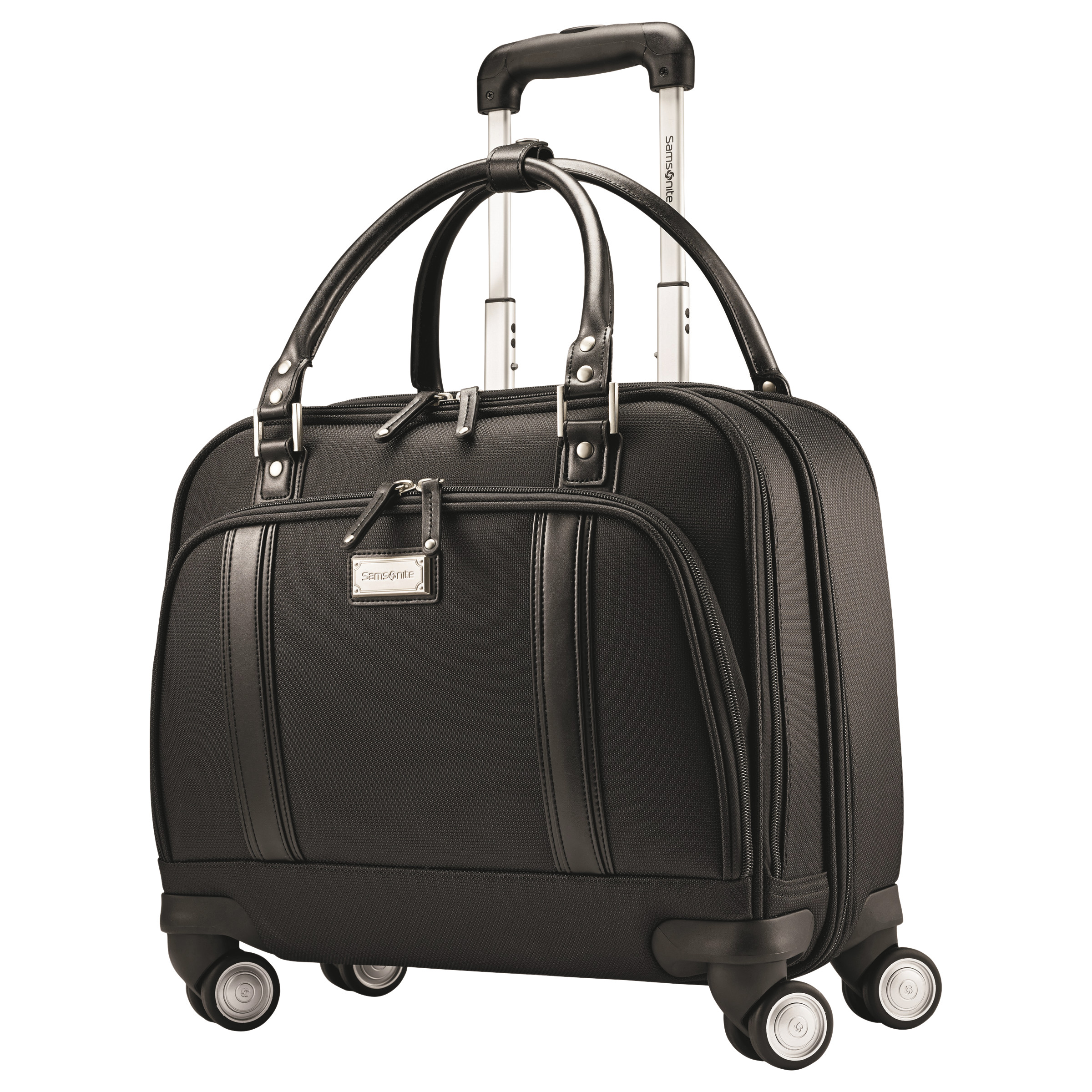 Samsonite Women's Rolling Mobile Office, 16 1 2 x 8 x 13 1 2, Black by Samsonite