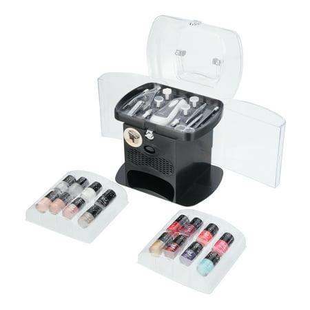 ($40 Value) The Color Workshop Manicure Gift Set with Nail Polish and Dryer, 30 Pcs (Polish Pottery Miniature Tea Set)