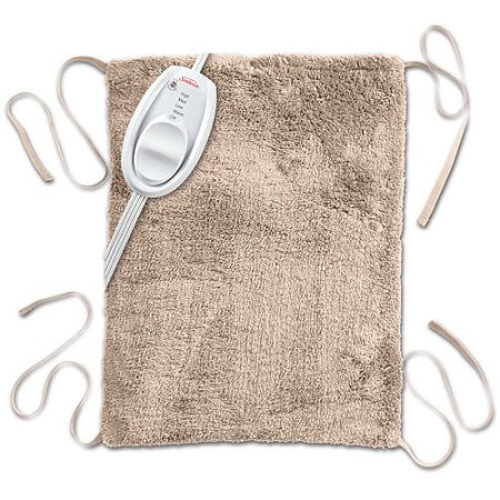 Sunbeam Ultra Soft Vinyl Heating Pad with Straps, (Best Heating Pad Reviews)