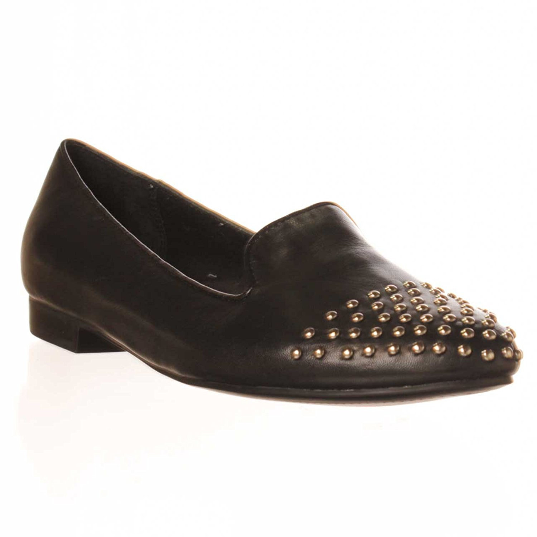 Marc Fisher M.F. Surri Flat Loafers - Black