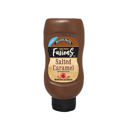 Musselman's Apple Butter Fusions Salted Caramel 18.25 oz Pack of 8