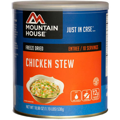 Mountain House Chicken Stew Can