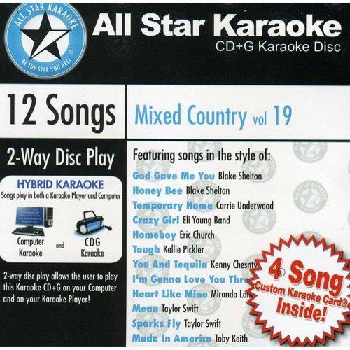 Karaoke: Mixed Country, Vol. 19