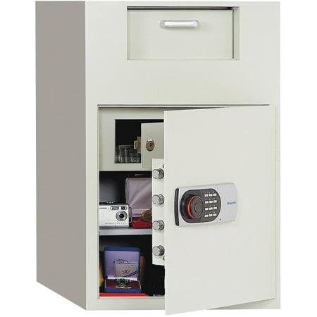 Phoenix Front Loading Digital Lock Depository Safe With Inner Locking Door 3 48 Cu Ft