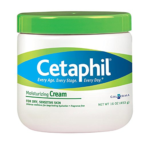 2 Pack - Cetaphil Moisturizing Cream, Fragrance Free - 16 Oz Each
