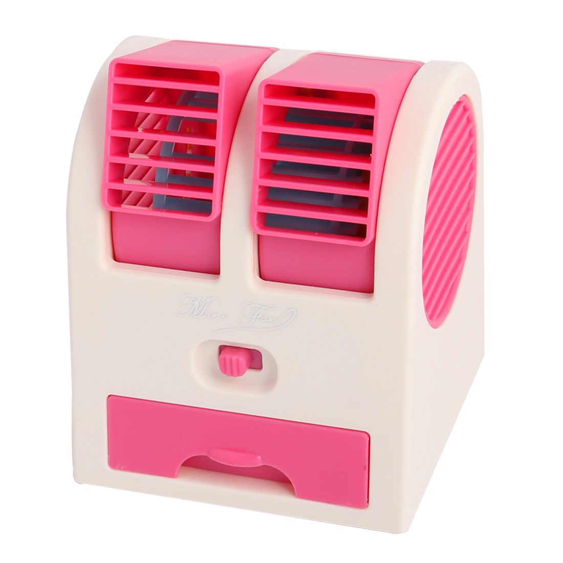 Portable Office Bladeless Cooling USB Battery Powered Personal Mini Fan