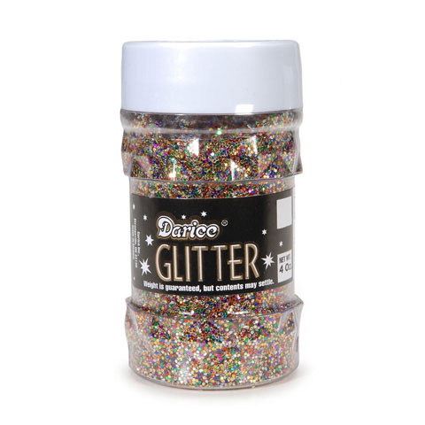 Glitter Jar - Multi Color - Big Value - 4 ounces