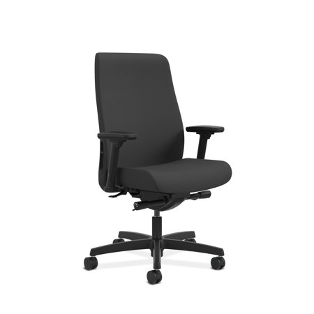 Aeron Chair Lumbar Support (HON Endorse Mid-Back Task Chair with Lumbar Support, in Black (HLWU) )