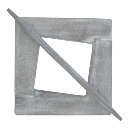 Evideco Caroline Wooden Square Curtain Tieback
