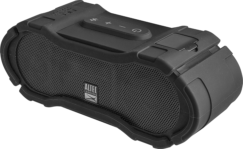 Altec Lansing Boom Jacket 2 Portable Wireless Speaker Black IMW579 by Altec Lancing