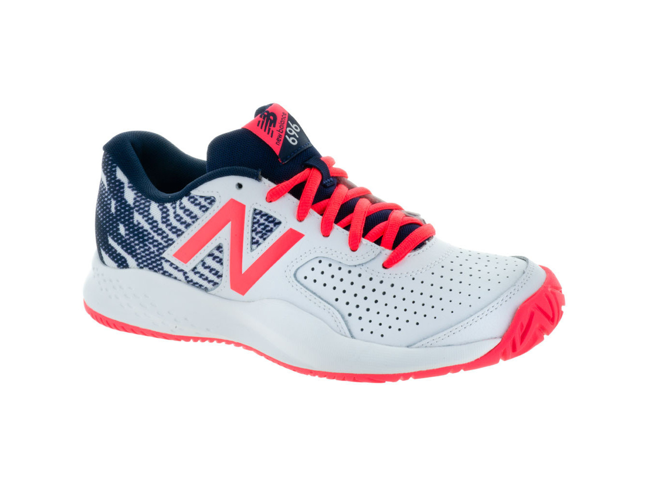 New Balance Womens Wch696s3 Low Top Lace Up Running Sneaker by New Balance