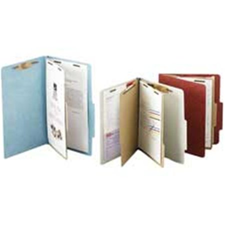 - Acco Brands- Inc.  Classification Folders- 2in. Exp- Legal- 1 Partition- Earth Red