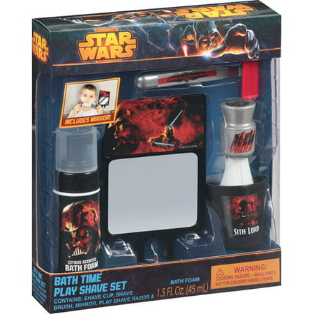 star wars bath time play shave set, 5 pc - walmart