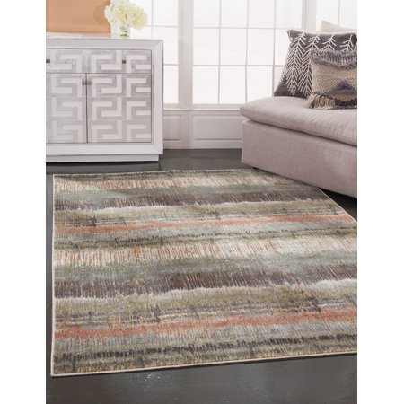 Sutton Ashton Green, Pink, Multi-color Area Rug