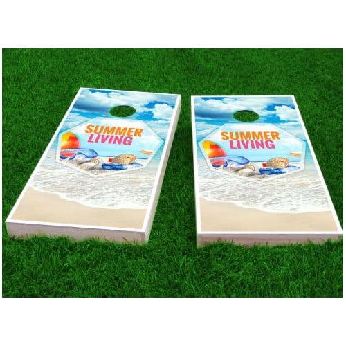 Custom Cornhole Boards Beach Cornhole Game (Set of 2) by Custom Cornhole Boards