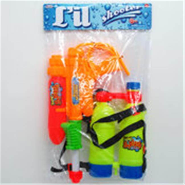 """17"""" Water Gun w  Backpack Double Tank (12 Units Included) by Arcady"""