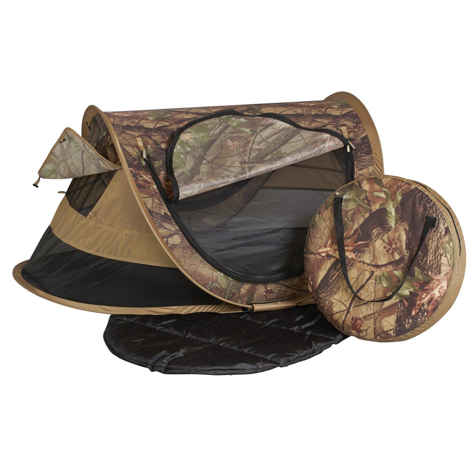 Kidco Peapod Plus Portable Travel Bed Camo Walmart Com