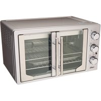 Oster TSSTTVFDXL Innovative French Door Convection Toaster Oven, Stainless Steel