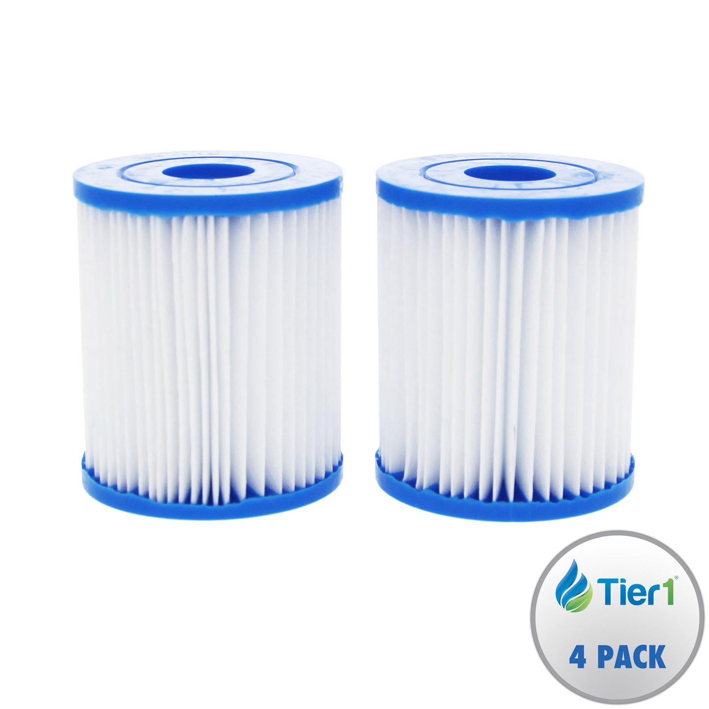 Tier1 Replacement for E Intex E Pool and Spa Filter Cartridge 4 Pack