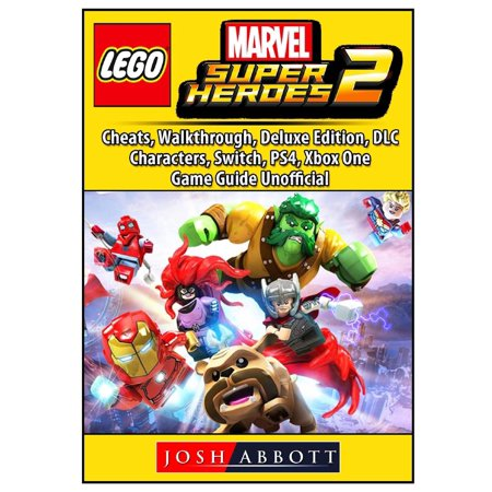Lego Marvel Super Heroes 2, Cheats, Walkthrough, Deluxe Edition, DLC, Characters, Switch, Ps4, Xbox One, Game Guide - Superhero Characters