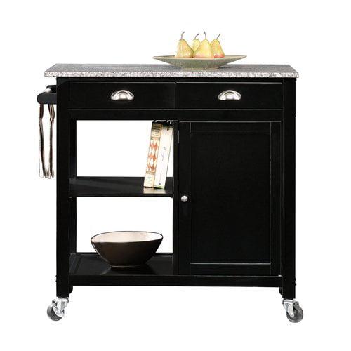 Savannah Kitchen Cart Cabinet
