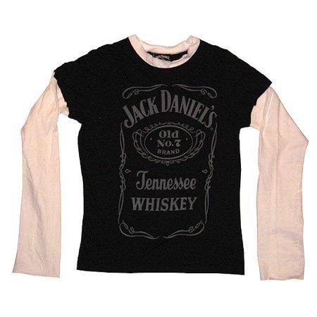 Jack Daniels Label Twofer