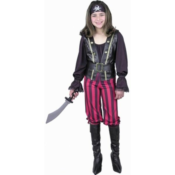 Child's Pirate Queen Costume~Child's Pirate Queen Costume by