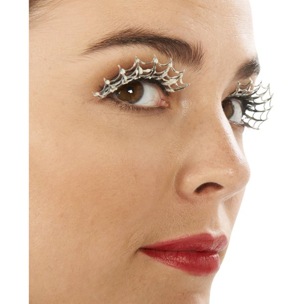Glow in the Darkness Eyelashes Halloween Accessory